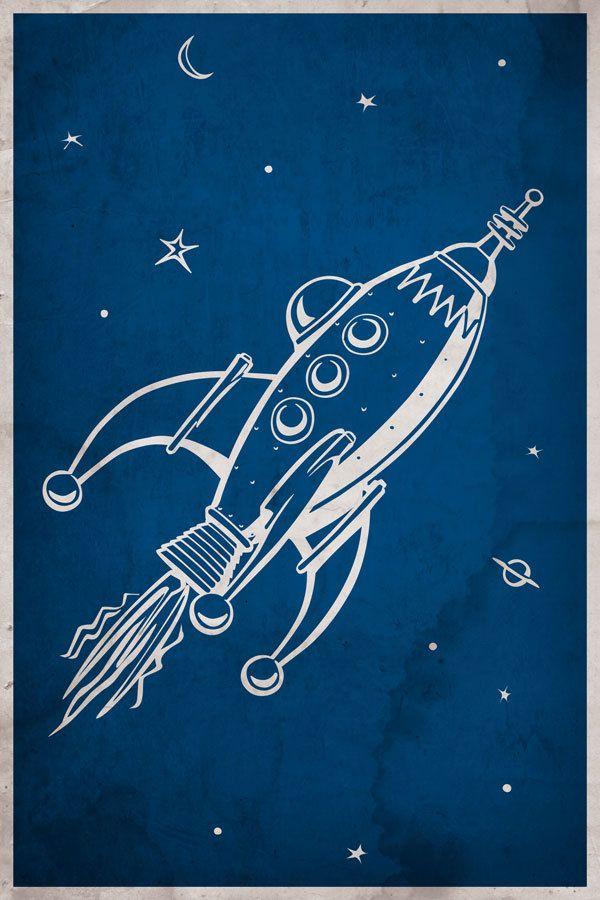 25 best ideas about retro rocket on pinterest spaceship