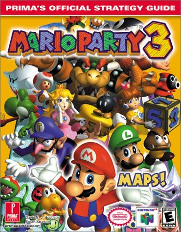 Mario Party 3: Prima\'s Official Strategy Guide