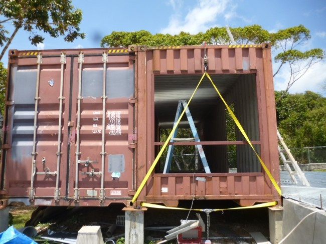 Shipping container house in panama container houses pinterest - Container homes alberta ...