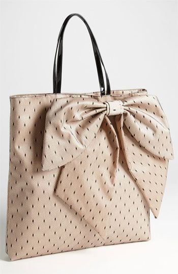 RED Valentino Point D'Esprit Bow Tote available at #Nordstrom