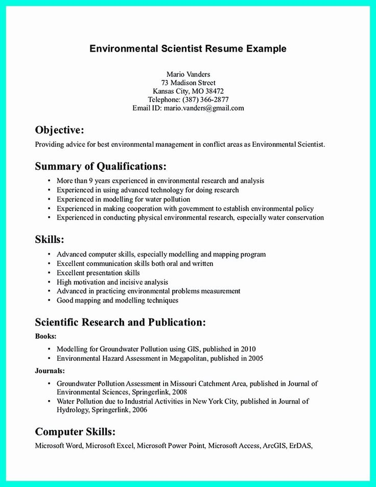 20 Data Analyst Resume Summary in 2020 (With images