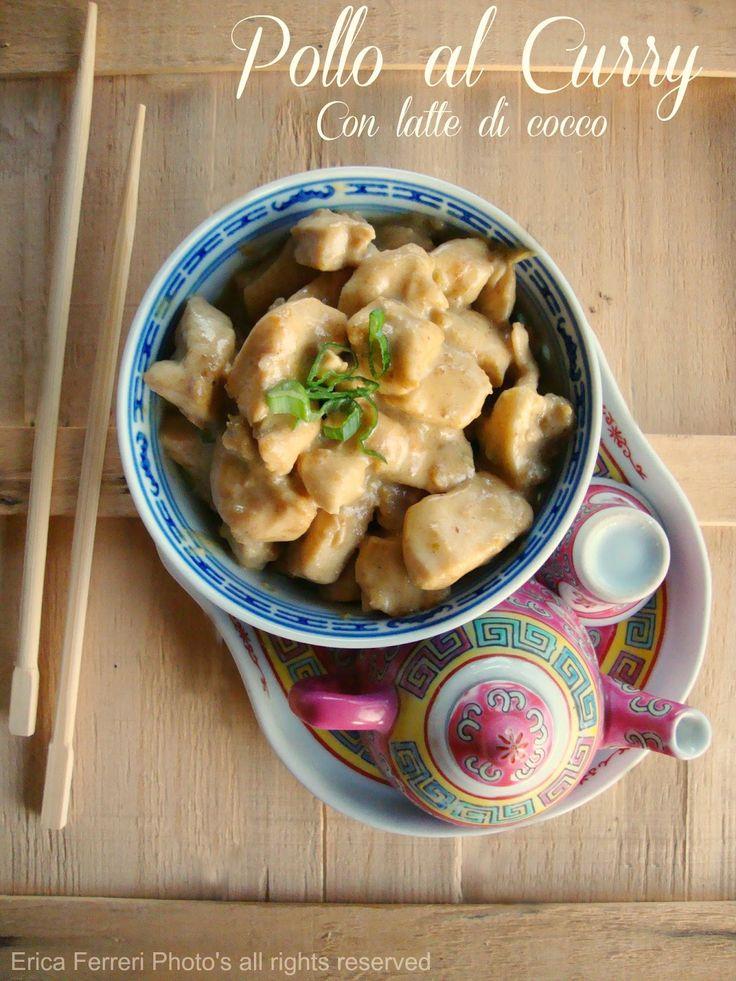 Ogni riccio un pasticcio - Blog di cucina: Pollo al curry con latte di cocco
