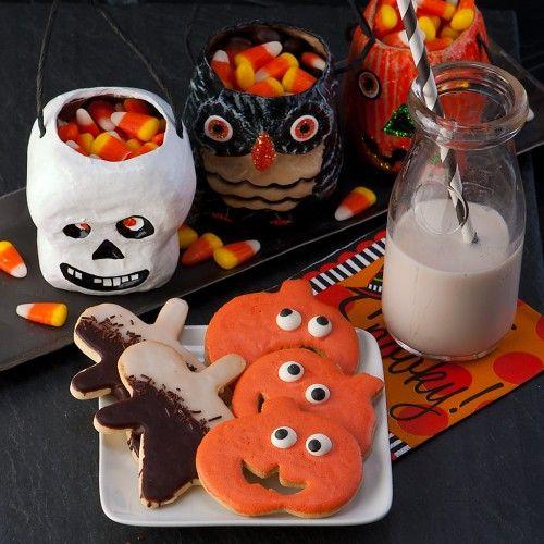 Spooky Halloween Cookies: October Treats, Cookies Gluten Fre, Halloween Parties Snacks, Mystery Halloween, Food Halloween, Spooky Halloween, Gluten Free Cookies, Glutenfree, Halloween Cookies