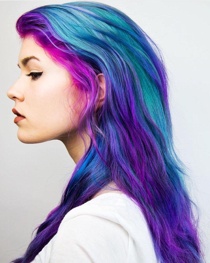 Best 25+ Multicolored hair ideas on Pinterest | Opal hair ...