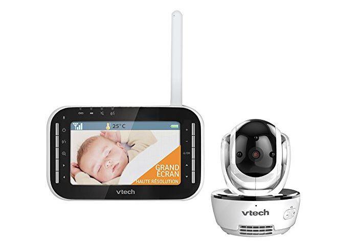 Chaque élément du babyphone Vtech Vidéo Vision XL BM4500 a été soigneusement travaillé pour séduire même les parents les plus exigeants. Découvrez-le vite !