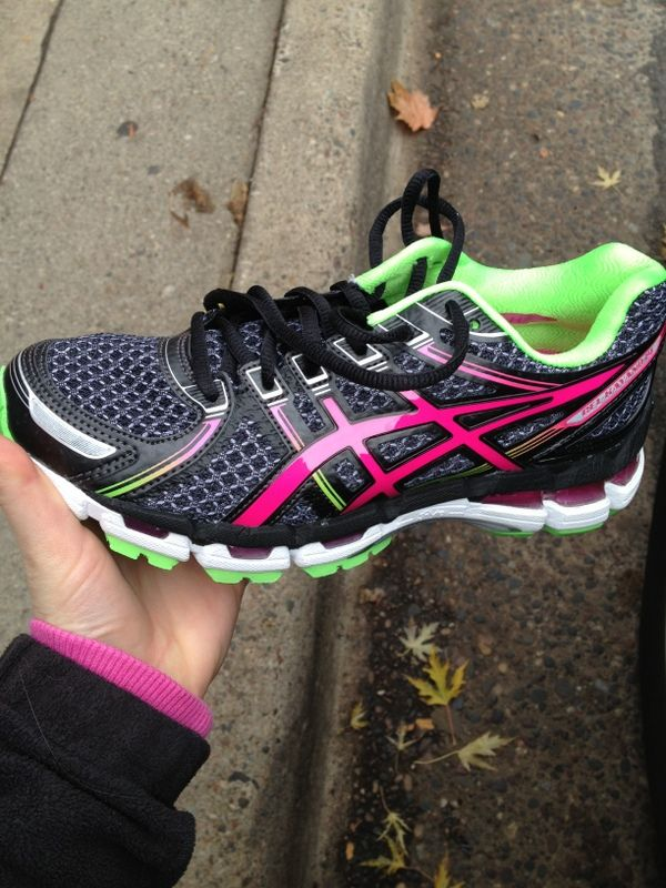 asics.. black with vibrant colors, nice!