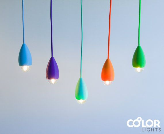 Custom color Pendant Light Fit Small