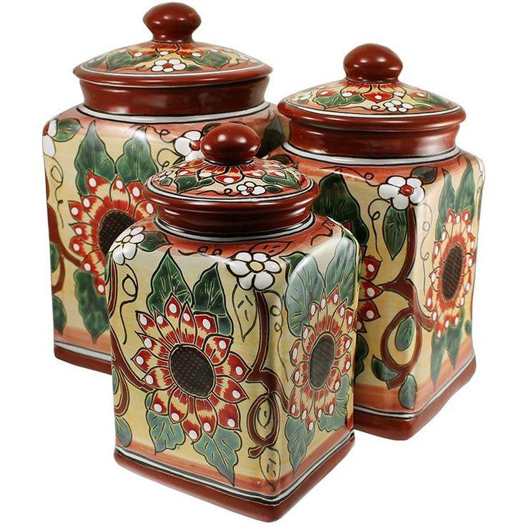 Kitchen Jars Set: 1000+ Ideas About Kitchen Canisters On Pinterest