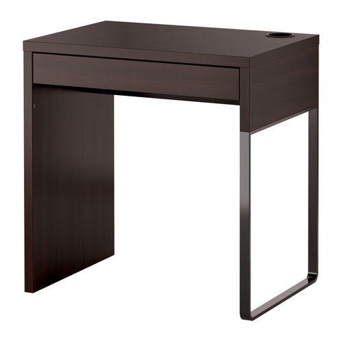 MICKE 책상 - 블랙-브라운 - IKEA