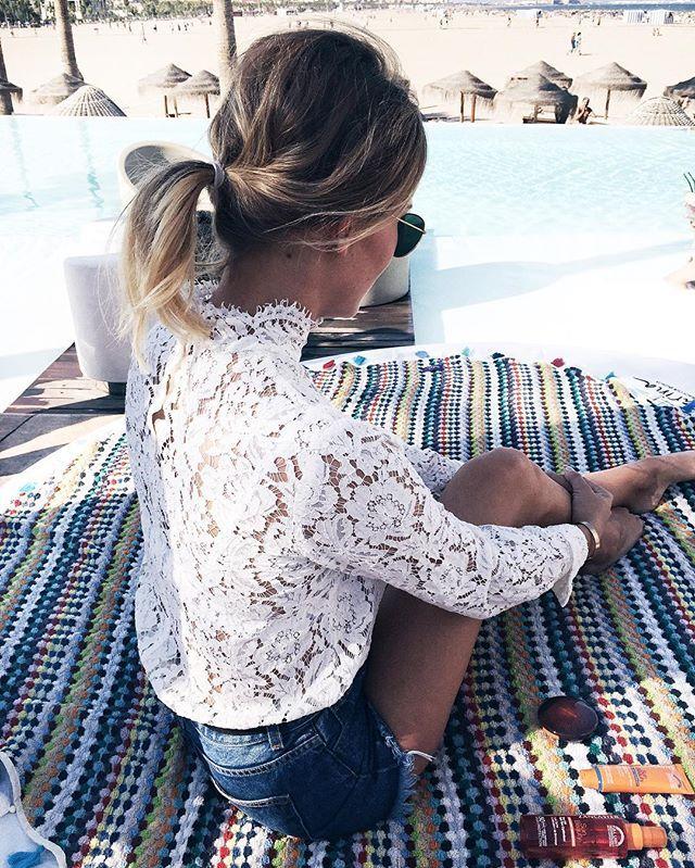 Feeling the beach club atmosphere in Valencia ☀️ M