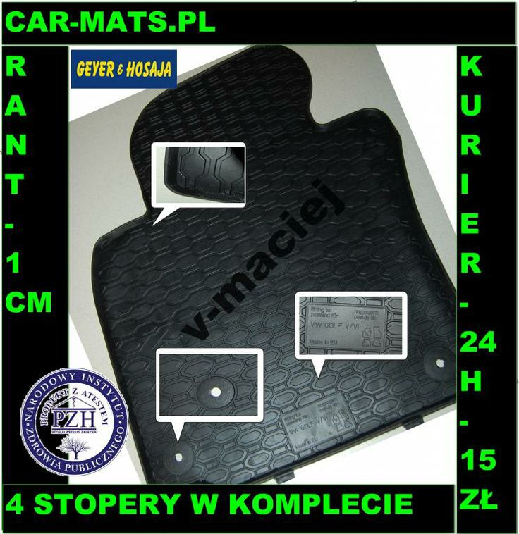 Vw Golf V/VI Geyer Car-mats