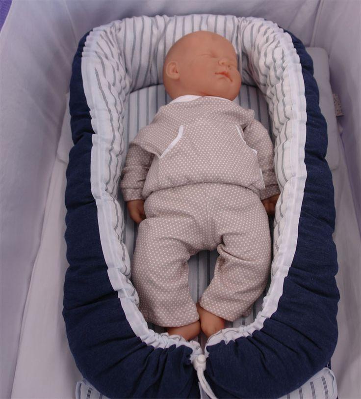Babynest azul marino.que recogiditos quedan los peques! #babynest #baby #decopeques