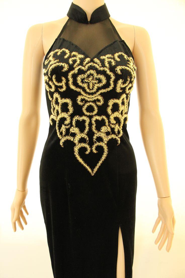 Evening dress accessories 80s
