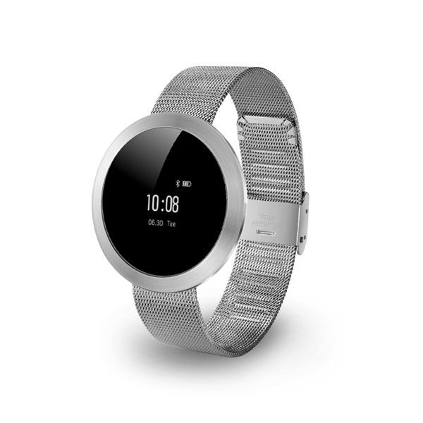 X9 Smart Watch Heart Rate Monitor Call Message Reminder Stainless Steel Strap Bluetooth Watch at Banggood