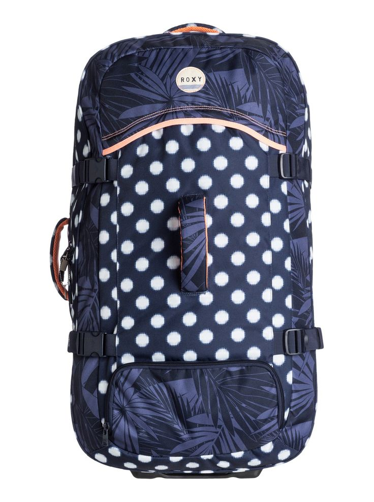 roxy, Long Haul - Valise à roulettes extra-spacieuse, SMALL IKAT DOTS COMBO PEACOAT (btn7)  150 €