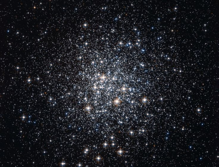 M72: A Globular Cluster of Stars (Aug 19 2012) Image Credit: NASA, ESA, Hubble, HPOW Explanation: Globular clusters once ruled the Milky Way. Back in the old days, back when our Galaxy first formed, perhaps thousands of globular clusters roamed our Galaxy. Today, there are less than 200 left. Many globular clusters were destroyed over the eons by repeated fateful encounters with each other or the Galactic center. #astronomy