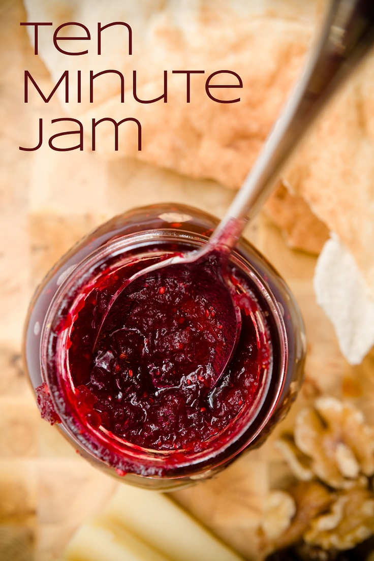 Homemade Tart Cranberry Jam in Ten Minutes (from Cupcake Project - cupcakeproject.com)