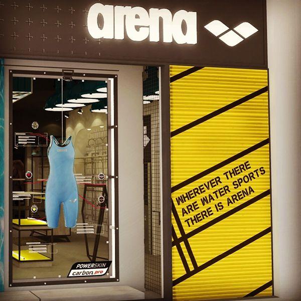 Arena - Concept Store WIP. by Mafe Maldonado