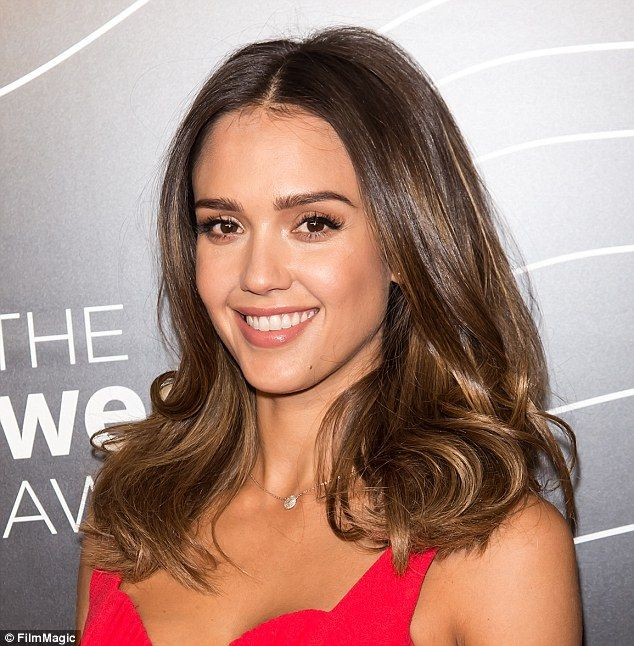 Winning look: The actress showed off the products' versatility at The Webby…