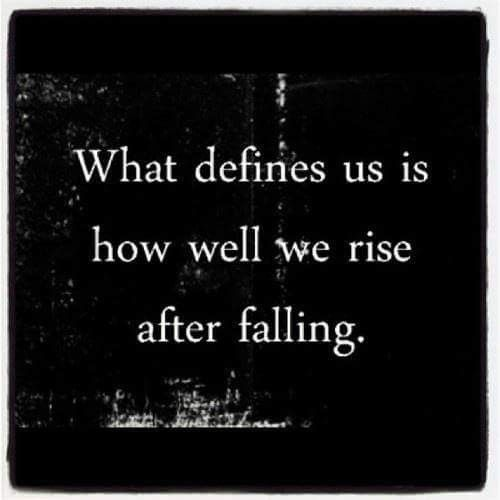 Falling quote