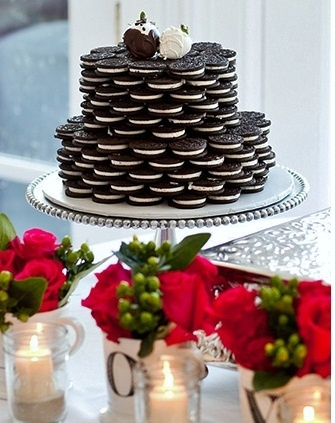 Oreo Wedding CakeAllure Bridal