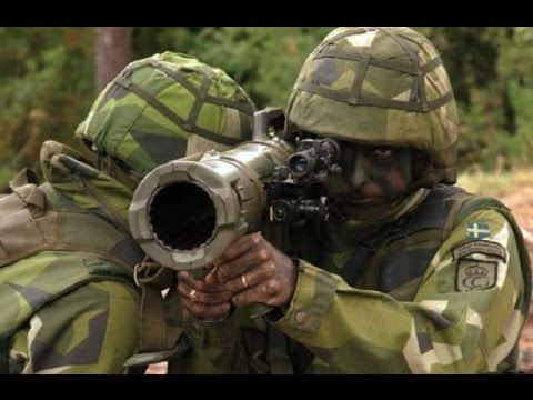 SUPER DEADLY Swedish military M4 Multi Role Recoilless Rifle - YouTube