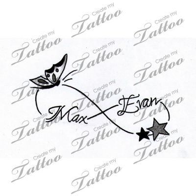Help..Need loving creative tattoo with my kids names-inner wrist | kids #164931 | CreateMyTattoo.com Mehr