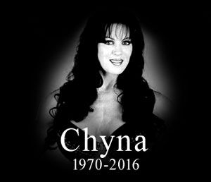R.I.P Joanie Laurer (WWE Chyna 1969-20/4/2016) First female Royal Rumble entrant and first female to win the Intercontinental Championship. Breaking the barriers!!