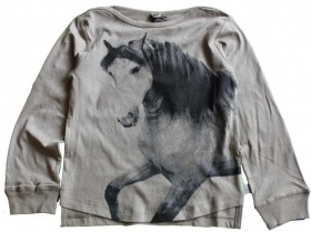 Stella McCartney T-shirt paardenprint w12 Foto