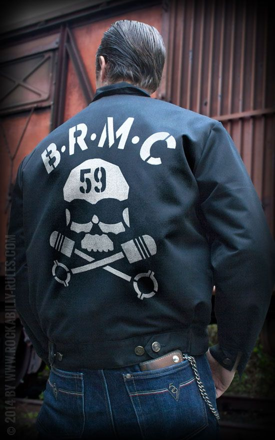 Workerjacke - BRMC by Rumble59 | Rockabilly - 50s Style