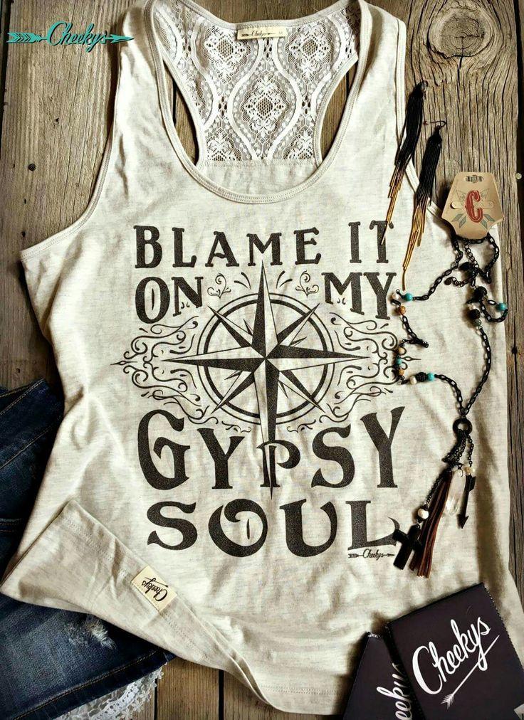 Blame it on my gypsy soul.  Cheekys. Fashion.  Boho.
