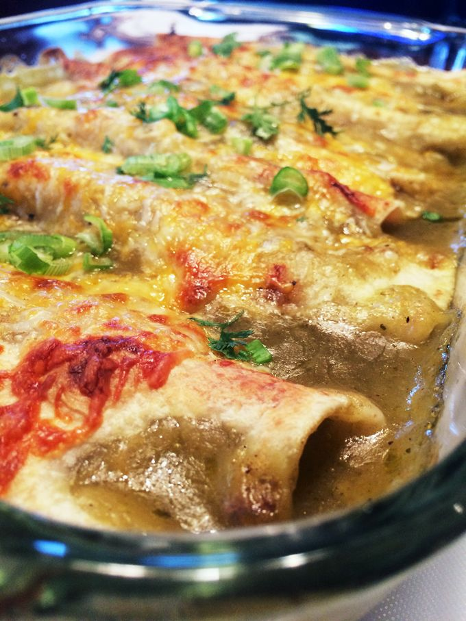 Ground Venison Salsa Verde Enchiladas. Out of this World Delicious. Substitute ground elk, turkey, antelope or beef.