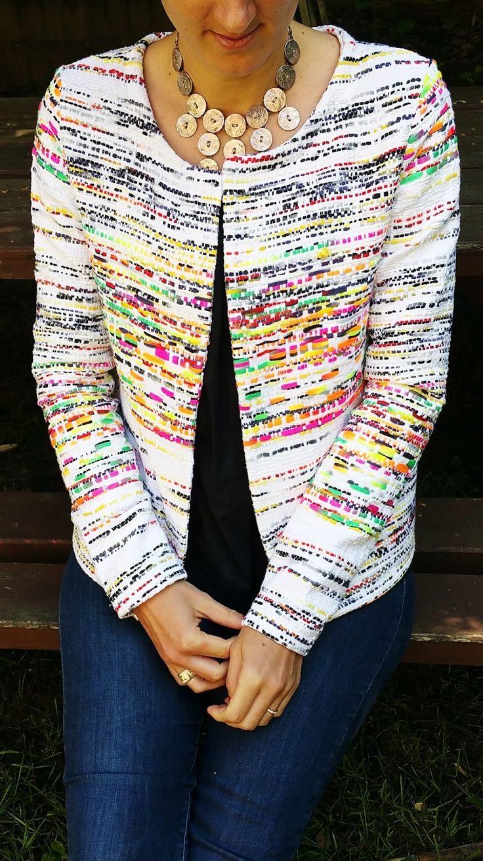 Ouais elle déchiiiiiiiiiiireeeeeeeeeeeeeee cette veste!!! Vous avez adoré le tissu sur Instagram j'espère que vous allez l'aimer sur ...