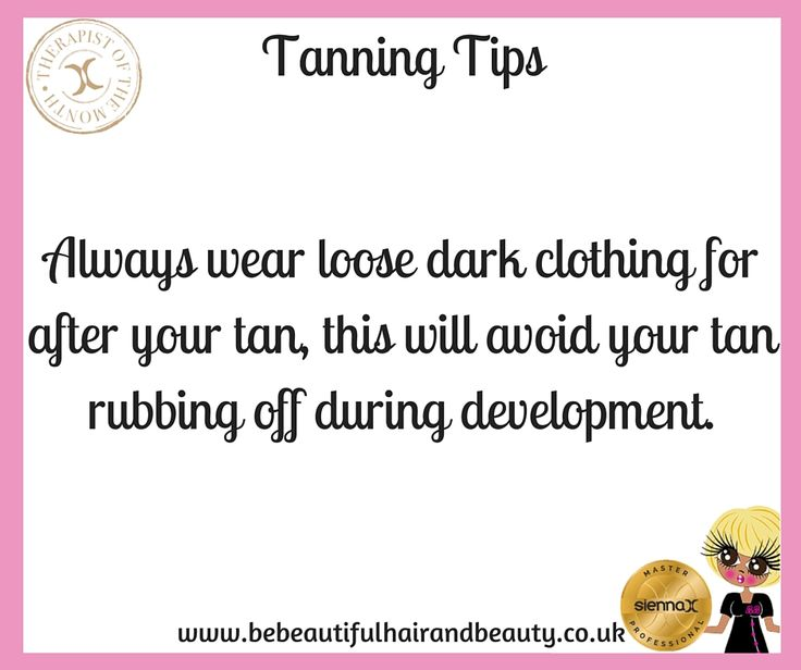 Summer Tanning Tip #5