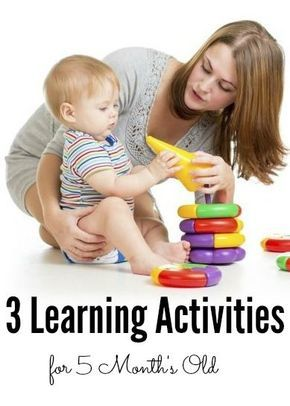 18eb0df57fa9 3 Learning Activities For Your 5 Month Old Baby: It is one of the best  times to engage yourself with different types of activities.