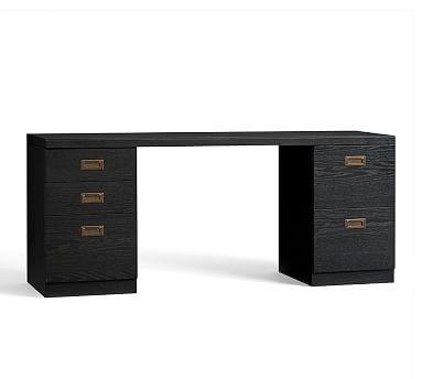 Reynolds Rectangular Desk Set Potterybarn Guest Suite