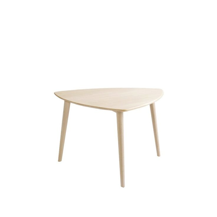 Yngve soffbord - Yngve soffbord - ljus mattlack, 40 cm