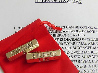 """#""""owzthat"""" #(howzat) cricket dice game with #velvet bag,  View more on the LINK: http://www.zeppy.io/product/gb/2/131609702642/"""