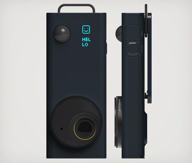 Autographer Camera designed by ChauhanStudio