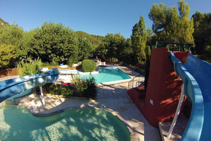 Domaine de l'Ecluse - Drôme - Buis les Baronnies - goede reviews, mooi gelegen, zwembad met glijbaan, rustig
