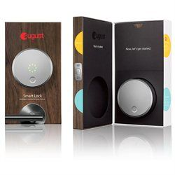 August Smart Lock - Keyless Home Entry with Your Smartphone, Dark Gray