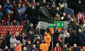 Liverpool fans walkout protest: around 10000 leave in 77th minute over ticket prices