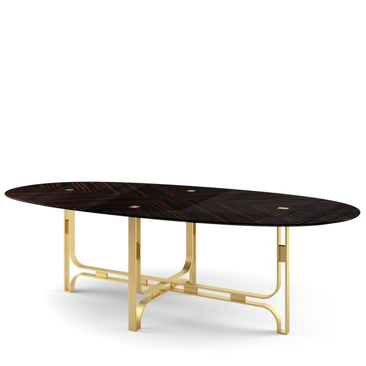 Gregory Oval Table - Shop timeless furniture handmade in Italy: tables,  chairs, sideboards