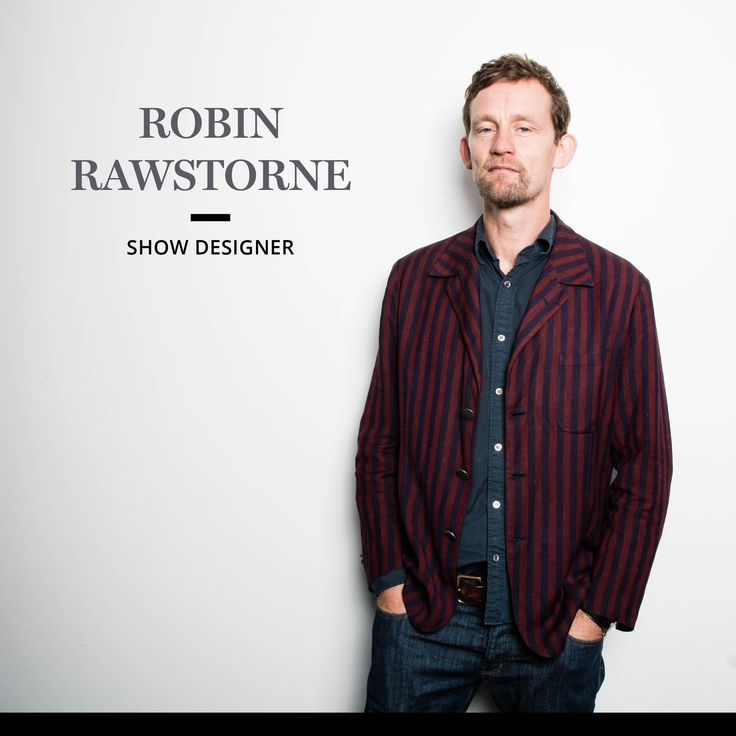 Show Designer Robin Rawstorne is based in Auckland. He also spends some of his time working outside of New Zealand particularly in Hong Kong, Shanghai and Beijing.He enjoys working on a wide variety of creative projects within the fields of exhibition design, installations, opera, theatre, ballet, live events, architecture and advertising.