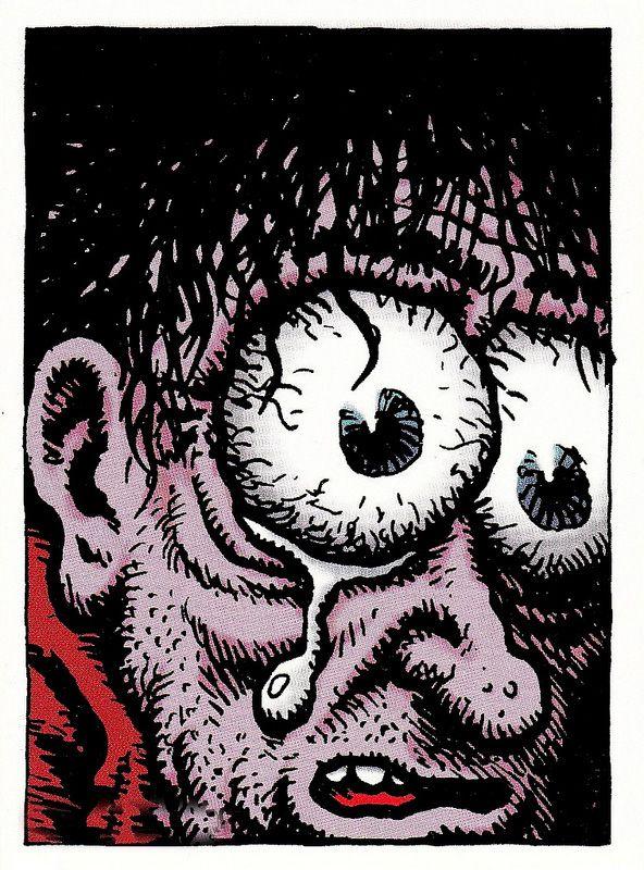 The Desperate Character by Robert Crumb (underground comics)