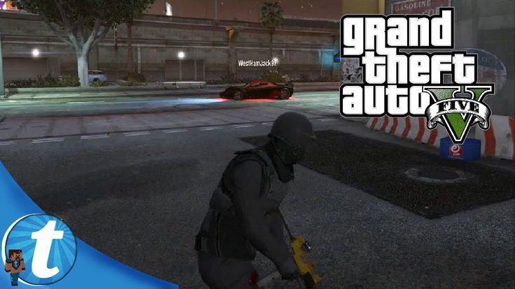 Jack the Bounty Hunter. | Tech Talk Plays: Grand Theft Auto V (그랜드 테프트 오토 V)