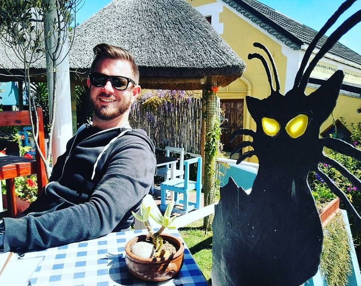Lunch #date with a certain #famous #cat #pascal #lunch #lgtbi