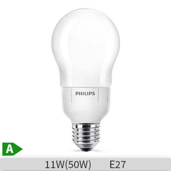 Bec economic Philips Master Softone, forma clasica, 12W, E27, 2700k, lumina calda http://www.etbm.ro/becuri-economice