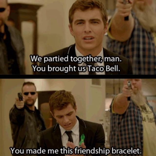 Haha: 21 Jumping Street, 21Jumpstreet, Movies, Funny, Davefranco, Dave Franco, Tacos Belle, 21 Jump Street, Friendship Bracelets