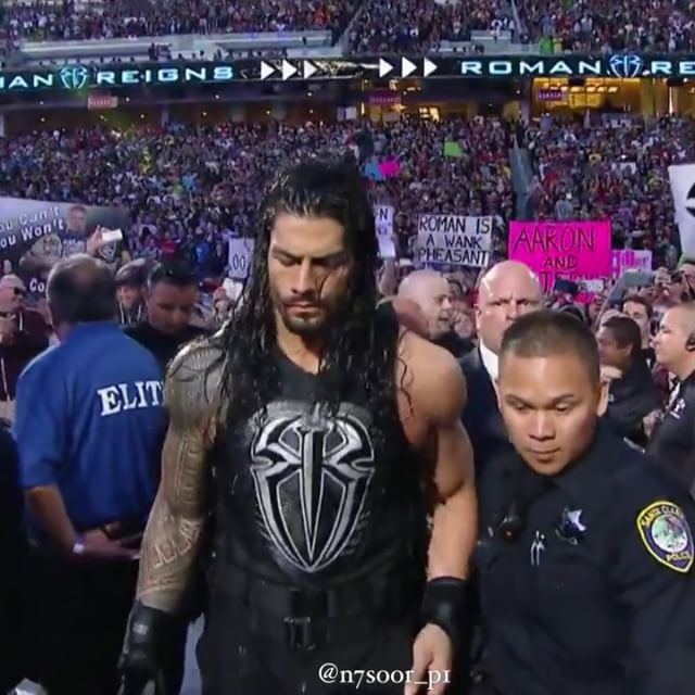 - Ronan Reigns Entrance At #wrestlemania31 🔥 . #Tripleh #Edge #ShawnMichaels #UnderTaker #Sting #SethRollins #AjStyles #JinderMahal #BrockLesnar #DeanAmbrose #TheRock #RandyOrton #JohnCena #WWENetwork #RomanReigns #TheUnderTaker #NikkiBella #Q8 #Respect #NXT #Divas #TheShield #Raw #TheGame #TheKing #SdLive #WWF #WWE #royalrumble